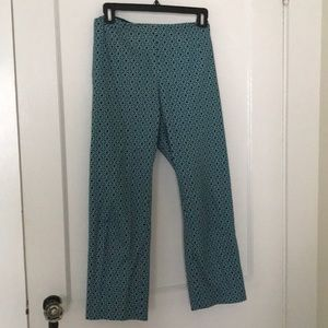 Laundry summer weight aqua and blue pants 14